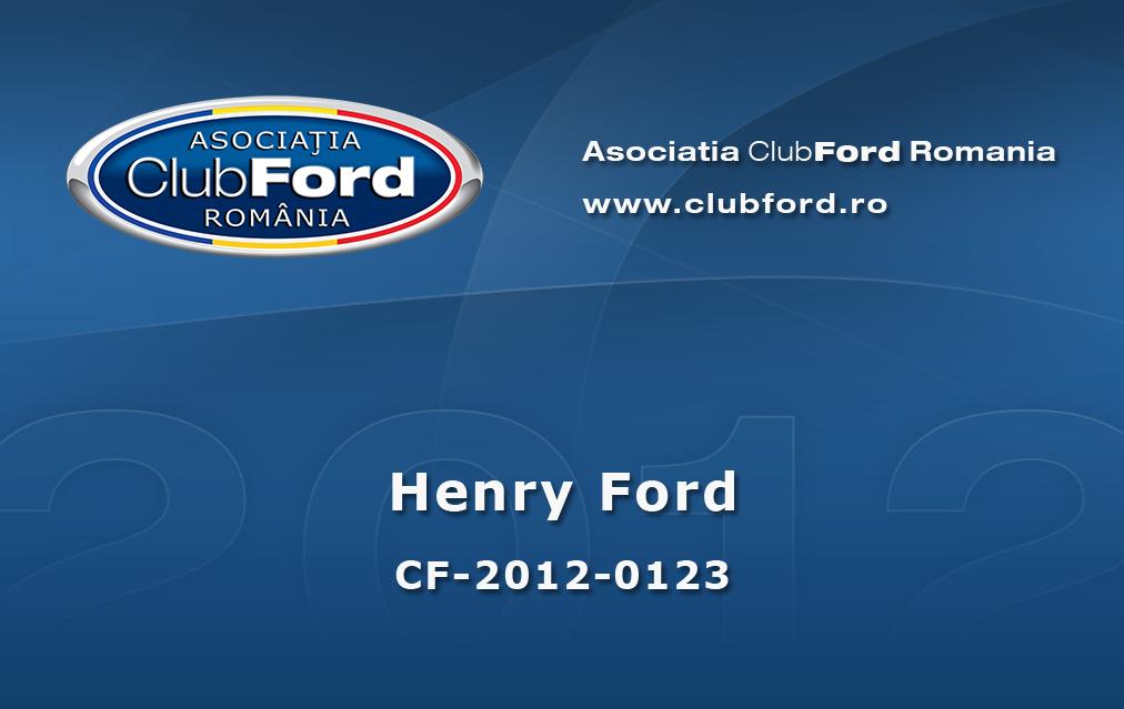 Card de membru 2012