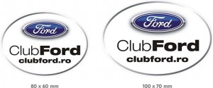 Stickere Ovale ClubFord